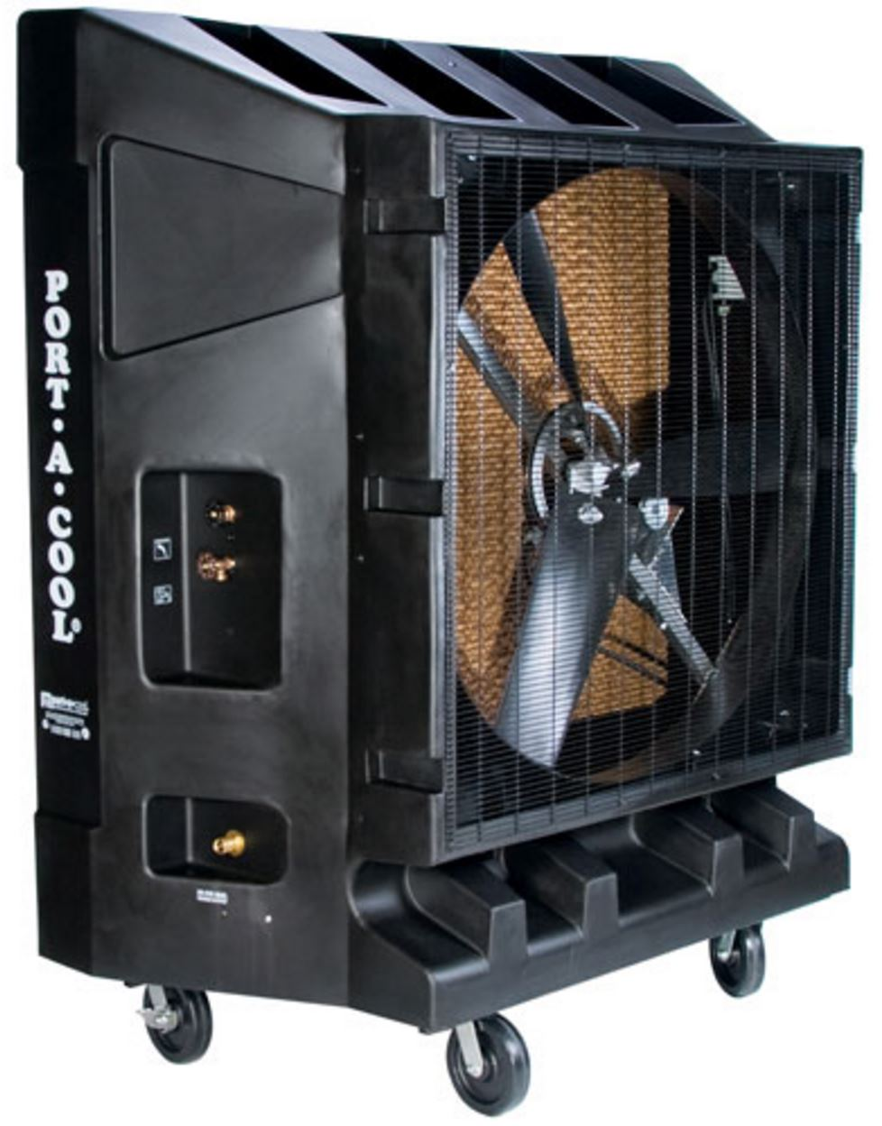 Industrial Air Coolers : Portable industrial air cooler inch single speed
